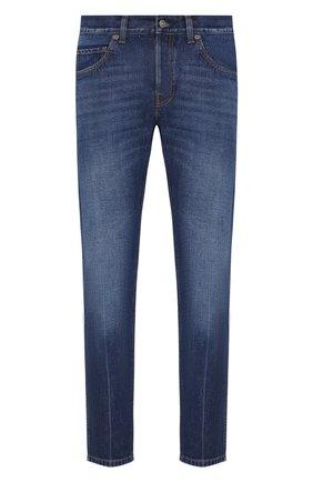 Мужские джинсы GUCCI синего цвета, арт. 408637/XDAK2 | Фото 1