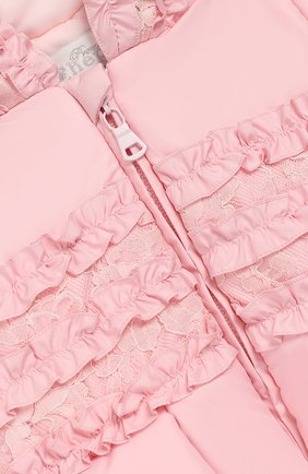 Детский комбинезон монпасье CHEPE розового цвета, арт. 391863   Фото 3