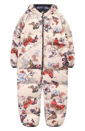 Детский комбинезон бабочки CHEPE разноцветного цвета, арт. 391329 | Фото 1