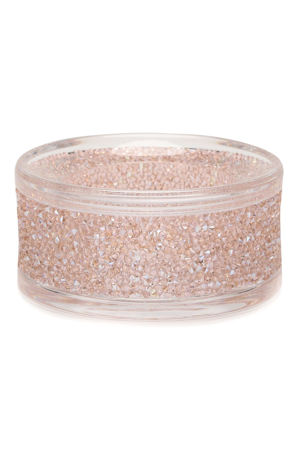 Мужского подсвечник shimmer SWAROVSKI розового цвета, арт. 5474276 | Фото 1