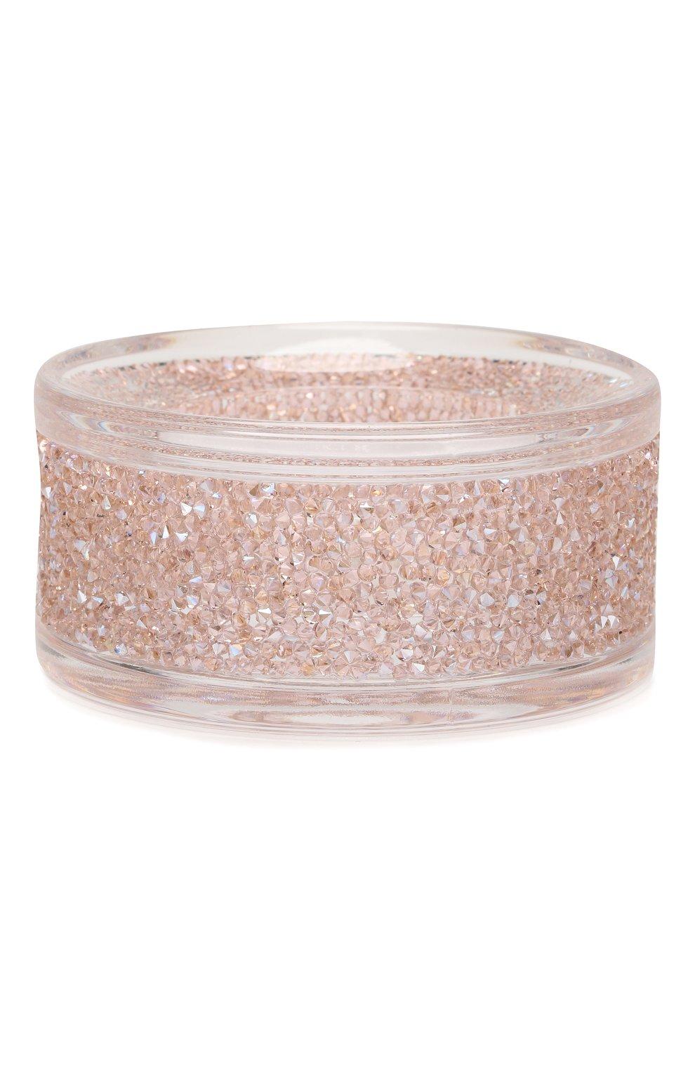 Мужского подсвечник shimmer SWAROVSKI розового цвета, арт. 5474276 | Фото 2