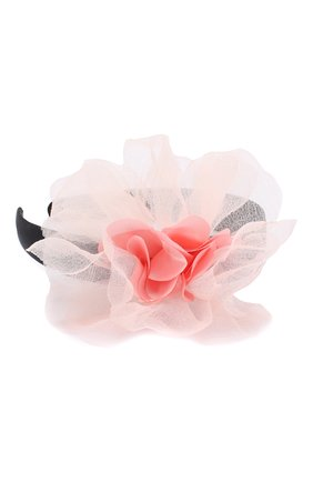 Детского ободок tenderness JUNEFEE розового цвета, арт. 5856 | Фото 2