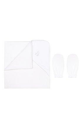 Комплект из полотенца и руковицы   Фото №1