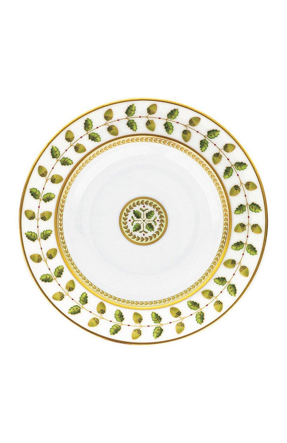 Мужского суповая тарелка constance BERNARDAUD зеленого цвета, арт. 0657/23 | Фото 1