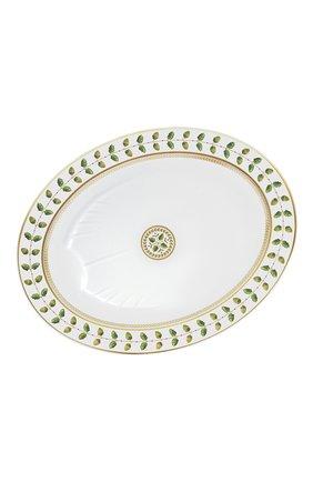 Мужского блюдо constance BERNARDAUD зеленого цвета, арт. 0657/107 | Фото 1