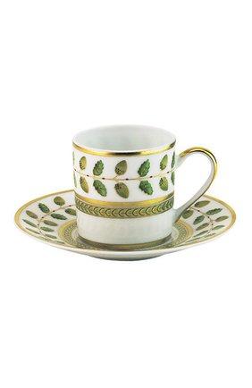Кофейная чашка с блюдцем Constance | Фото №1