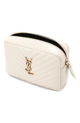 Женская сумка lou medium SAINT LAURENT белого цвета, арт. 520534/DV707 | Фото 4
