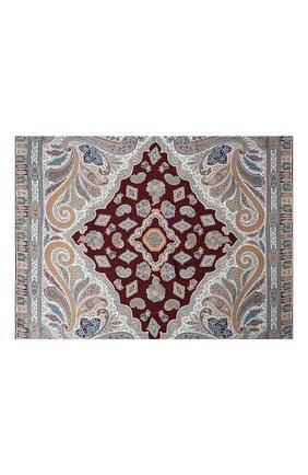 Женский шелковый платок MICHELE BINDA бордового цвета, арт. 21035915 | Фото 2