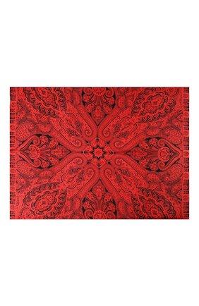 Женский шелковый платок MICHELE BINDA красного цвета, арт. 21036101 | Фото 2
