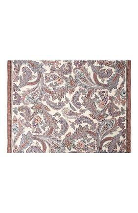 Женский шелковый платок MICHELE BINDA разноцветного цвета, арт. 21036350 | Фото 2
