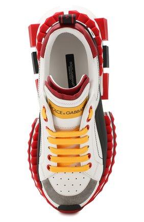 Кожаные кроссовки Superqueen | Фото №5