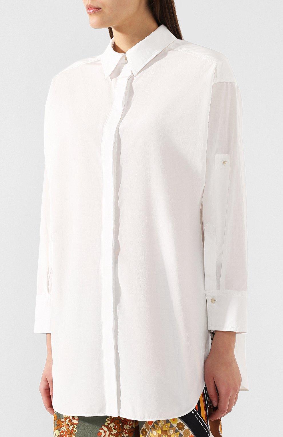 Рубашка Dorothee Schumacher белая   Фото №3