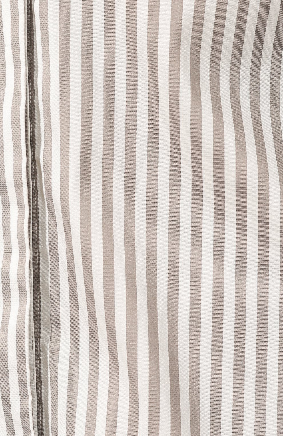 354cf121d41 Женская бежевая рубашка в полоску KITON — купить за 61950 руб. в ...