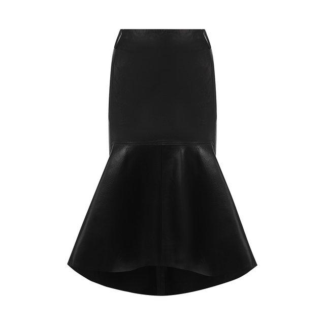 Кожаная юбка Balenciaga