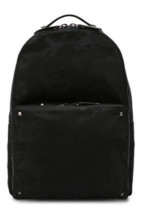 Текстильный рюкзак Valentino Garavani Rockstud  | Фото №1