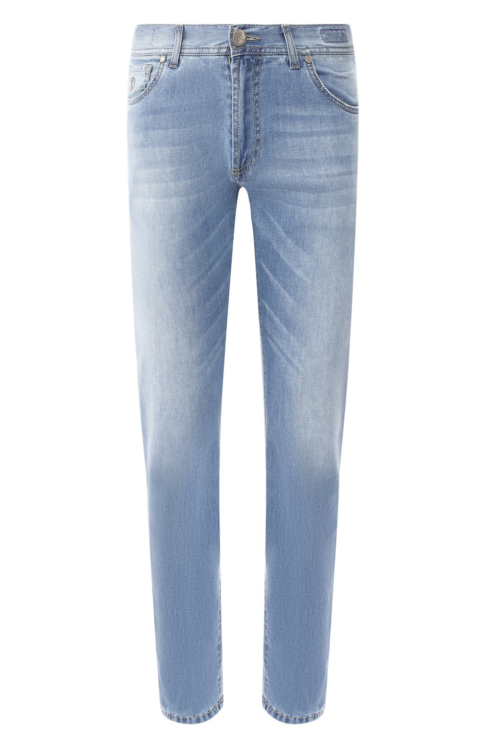 Мужские джинсы ANDREA CAMPAGNA голубого цвета, арт. AC102/T94.W936 | Фото 1