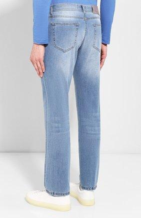 Мужские джинсы ANDREA CAMPAGNA голубого цвета, арт. AC102/T94.W936 | Фото 4