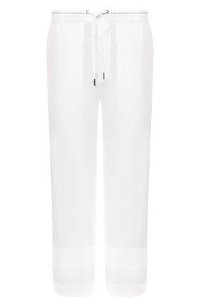 Хлопковые брюки Craig Green белые   Фото №1