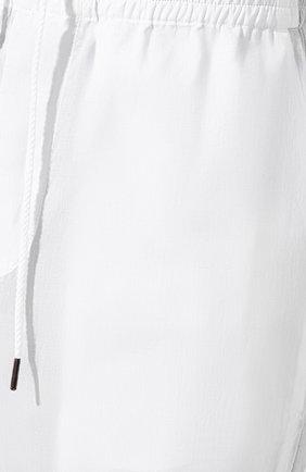 Хлопковые брюки Craig Green белые   Фото №5