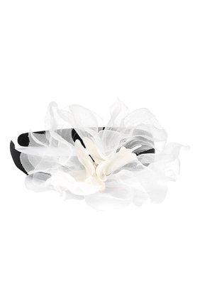 Детского ободок tenderness JUNEFEE белого цвета, арт. 5855 | Фото 2