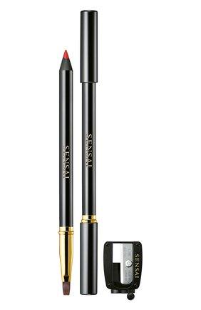 Женский карандаш для губ, оттенок 01 actress red SENSAI бесцветного цвета, арт. 34367 | Фото 1