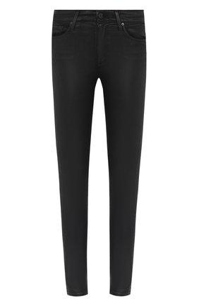 Женские джинсы-скинни AG черного цвета, арт. LSS1777/LTTSBA | Фото 1