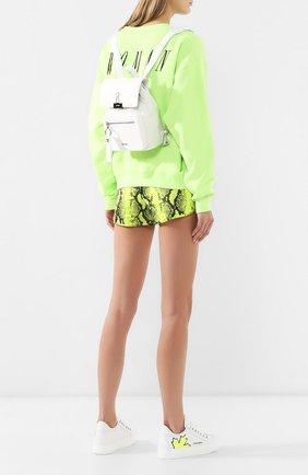 Женский текстильный рюкзак OFF-WHITE белого цвета, арт. 0WNB007S190740440100 | Фото 2