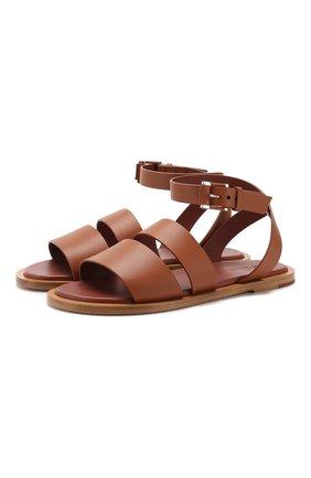 Кожаные сандалии Thirasia  | Фото №1
