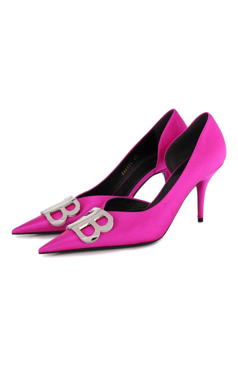 Текстильные туфли BB | Фото №1