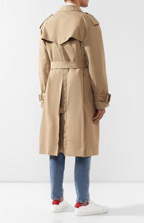 Комплект из плаща и куртки Maison Margiela бежевого цвета | Фото №4