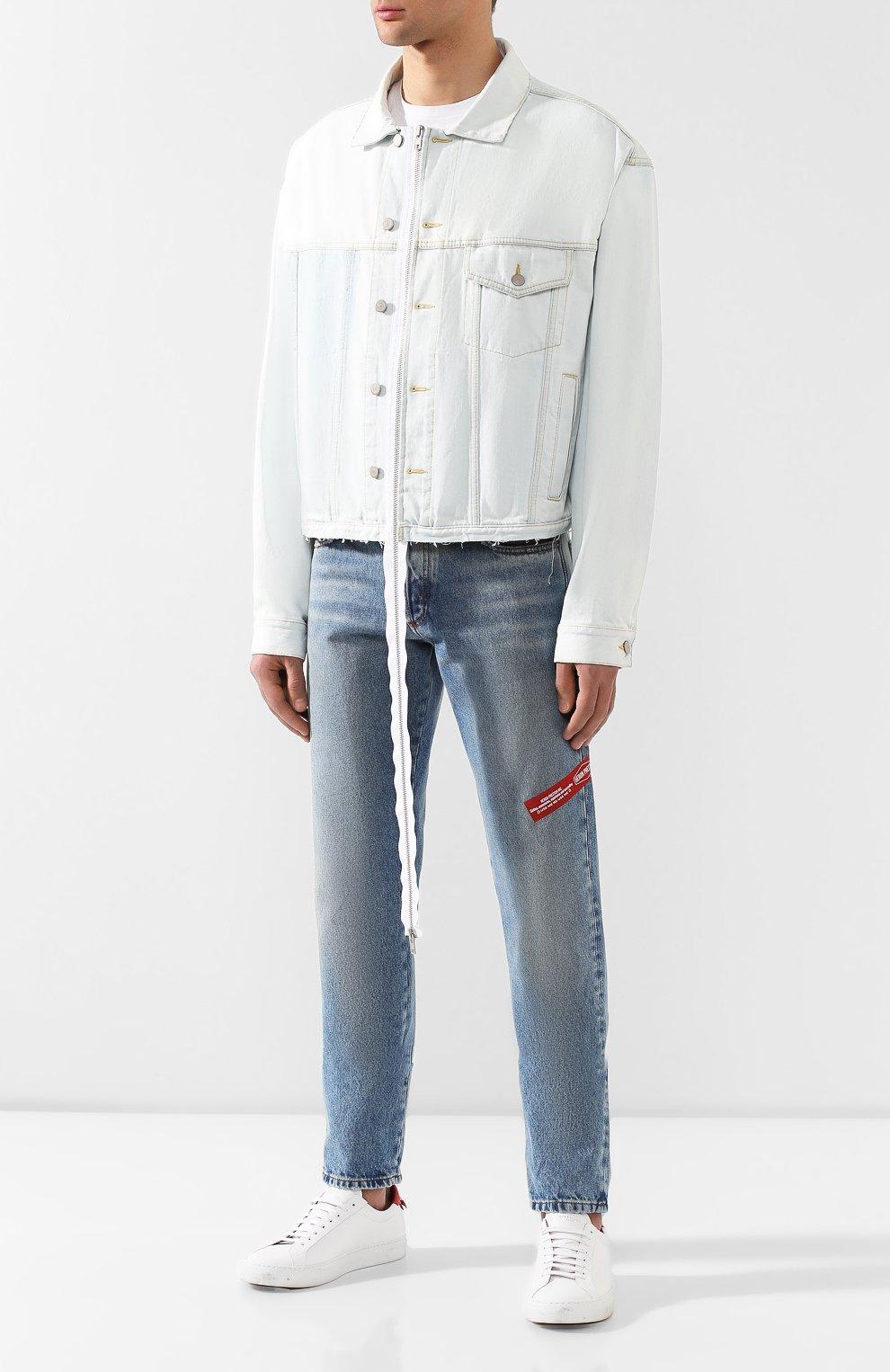 Комплект из плаща и куртки Maison Margiela бежевого цвета | Фото №6