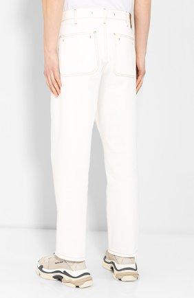 Джинсы Jacquemus белые | Фото №4