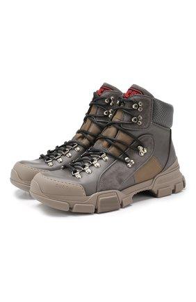 Кожаные кроссовки Flashtrek | Фото №1