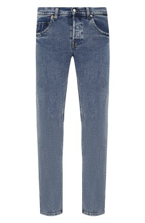 Мужские джинсы GUCCI голубого цвета, арт. 408637/XDALC | Фото 1