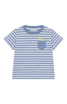 Комплект из хлопковой футболки и шорт | Фото №2