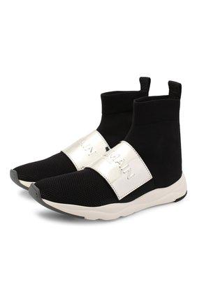 Текстильные кроссовки Cameron | Фото №1