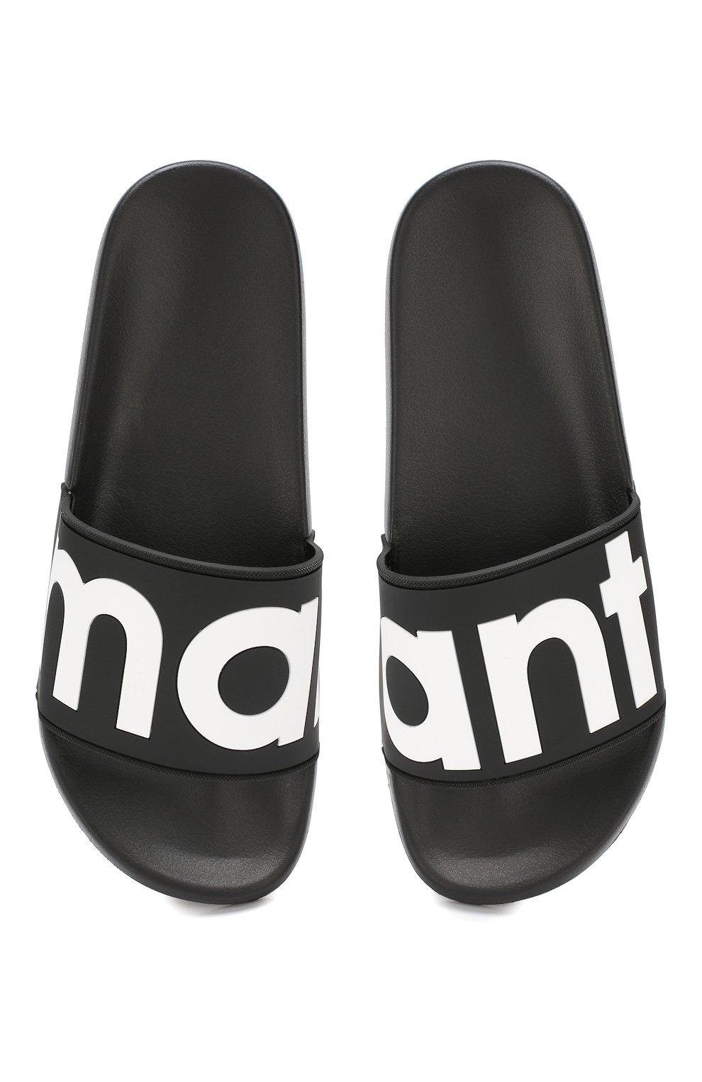Резиновые шлепанцы Howee Isabel Marant черные | Фото №5