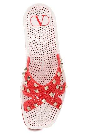 Резиновые шлепанцы Valentino Garavani Sandy | Фото №5