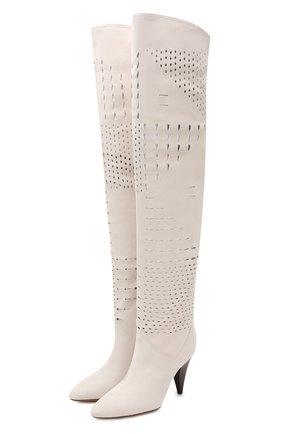 Замшевые ботфорты Lyde | Фото №1