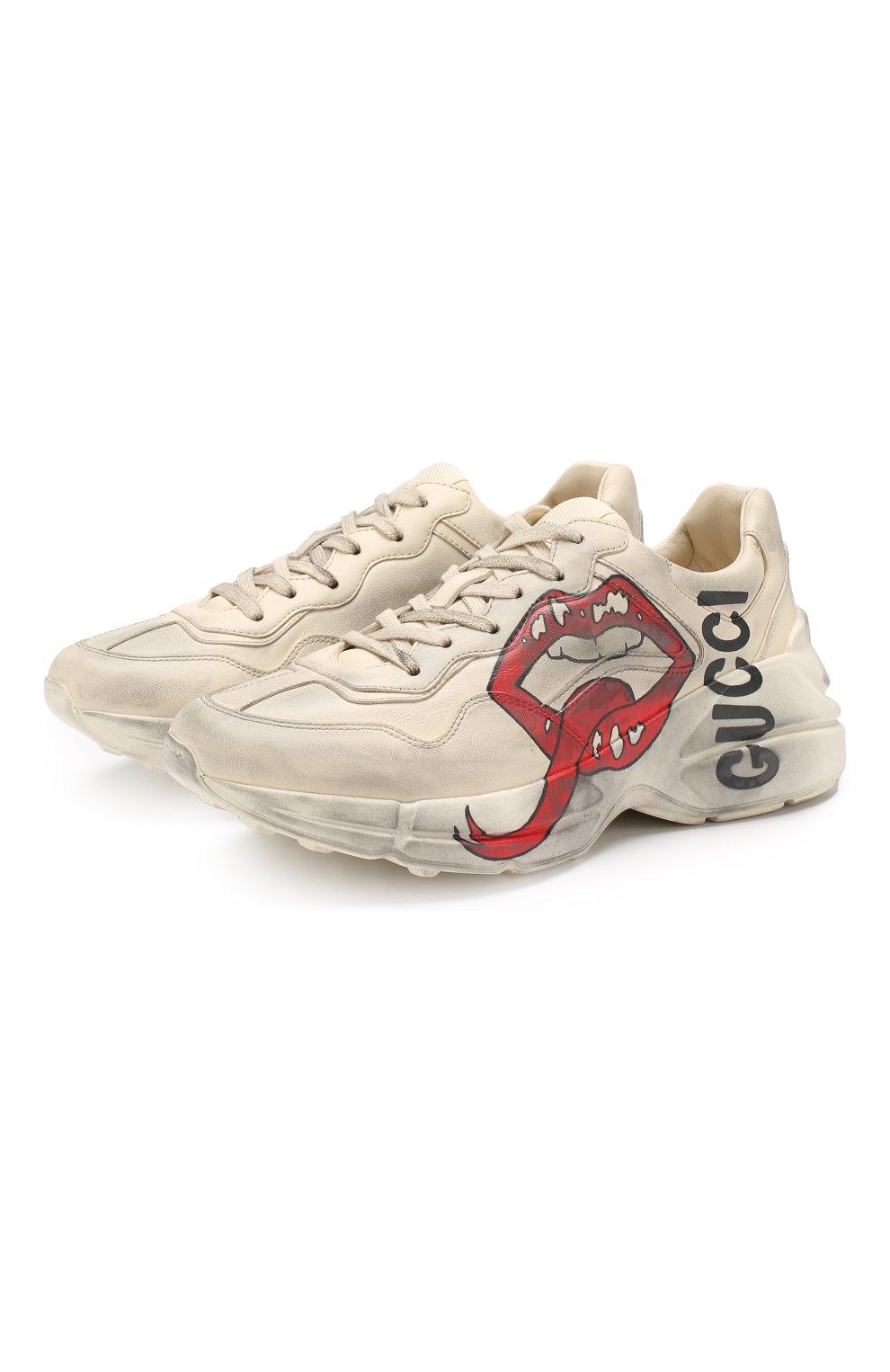 Кожаные кроссовки Rhyton    Фото №1