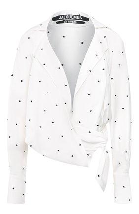 Блузка с запахом | Фото №1