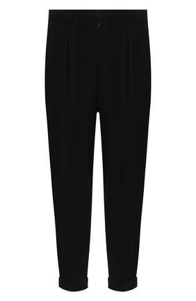Мужской хлопковые брюки RALPH LAUREN черно-белого цвета, арт. 790738210 | Фото 1