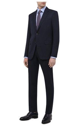 Мужская хлопковая сорочка ETON светло-голубого цвета, арт. 4707 61511 | Фото 2