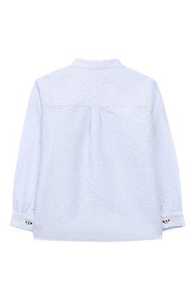 Рубашка из льна и хлопка   Фото №2