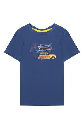 Детская пляжная футболка SUNUVA разноцветного цвета, арт. S9330/1-6 | Фото 1