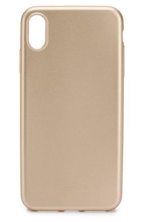Мужской чехол для iphone xs max VIPE золотого цвета, арт. VPIPXSMAXCOLGLD | Фото 1