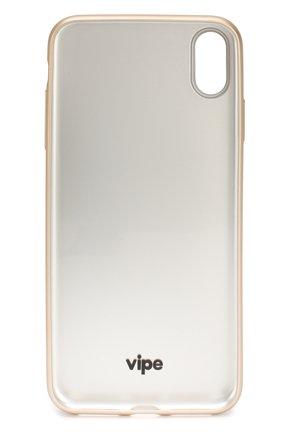 Мужской чехол для iphone xs max VIPE золотого цвета, арт. VPIPXSMAXCOLGLD | Фото 2