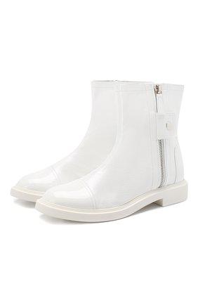 Кожаные ботинки Selena | Фото №1