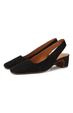 Замшевые туфли Danielle | Фото №1
