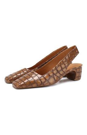 Кожаные туфли Danielle | Фото №1